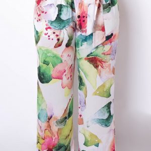 Malecon Pants multi colored in pastel